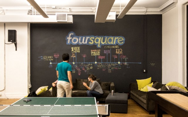 Held at the Foursquare Headquarters