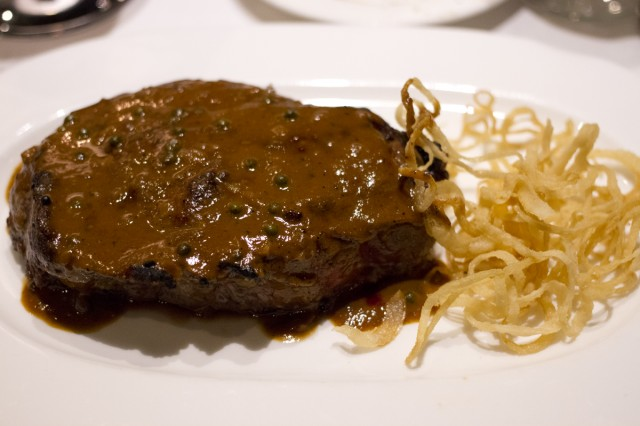 The Famous Delmonico's Steak
