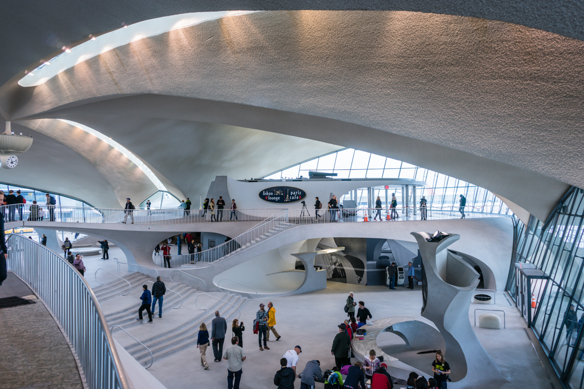 A visit to the twa flight center jason erin for Hotel at jfk terminal